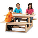 Click here for more Toddler Picnic Table by Jonti-Craft by Worthington