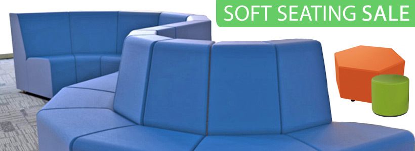 Sonik Soft Seating for Student Lounge or Commons, on Sale Now!
