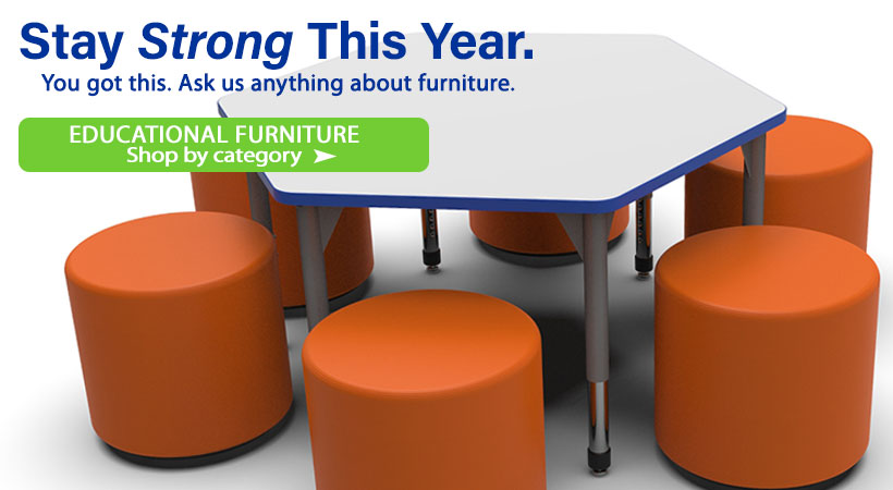 Shop all Educational, School and Classroom Furniture by Category!