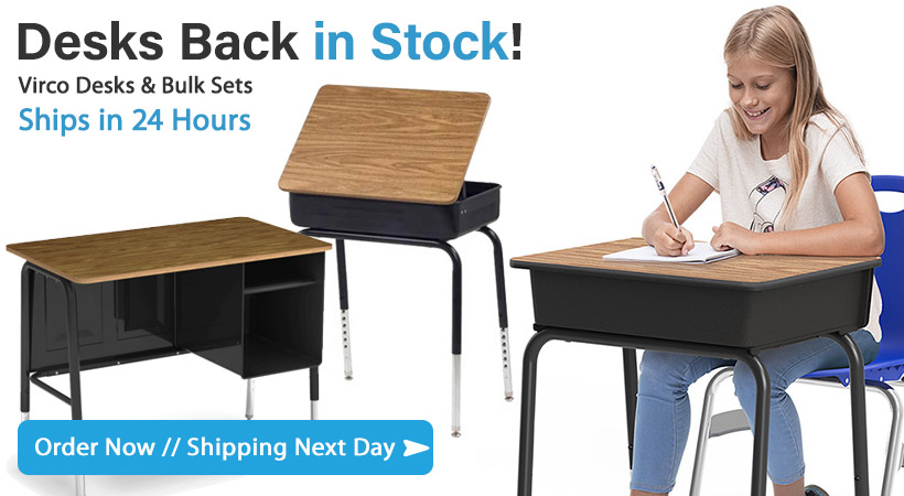Shop in Stock Classroom Furniture- Quick Ship!