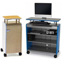 Click here for more Cascade Cabinets w/ Riser Shelves by Smith System by Worthington