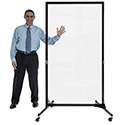 Click here for more Clear Acrylic Room Dividers by Screenflex by Worthington