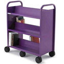 Click here for more Gorilla Booktruck with 6 Sloping Shelves by Smith System by Worthington