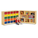 Click here for more Cubbie Fold-n-Lock Storage Units by Jonti-Craft by Worthington