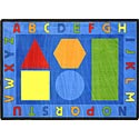 Click here for more Alphabet Shapes Carpet by Joy Carpets by Worthington