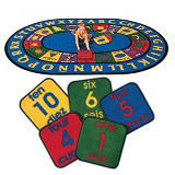 Click here for more Bilingual Rug by Carpets for Kids by Worthington