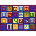 Click here for more Letters Count Carpet by Joy Carpets by Worthington