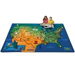 Click here for more U.S.A. Learn & Play Carpet by Carpets for Kids by Worthington