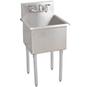 Click here for more Budget Stainless Steel Compartment Sinks by Diversified Woodcraft by Worthington