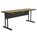 Click here for more Double Pedestal Base Computer Table by Correll by Worthington