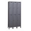 Click here for more ValueMax Double-Tier Metal Lockers by Hallowell by Worthington