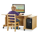 Click here for more Apollo Single Computer Desk by Jonti-Craft by Worthington