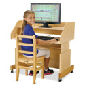 Click here for more Columbia Computer Desk by Jonti-Craft by Worthington