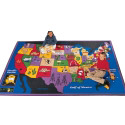 Click here for more Discover America Carpet by Carpets for Kids by Worthington