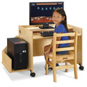 Click here for more Enterprise Single Computer Desk by Jonti-Craft by Worthington