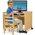 Click here for more MapleWave Enterprise Single Computer Desk by Jonti-Craft by Worthington