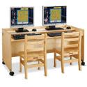 Click here for more Enterprise Double Computer Desk by Jonti-Craft by Worthington