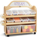 Click here for more STEAM Multimedia Cart by Jonti-Craft by Worthington