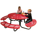 Click here for more Mighty Tuff Round Kid's Picnic Tables by UltraPlay by Worthington