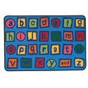 Click here for more Alphabet Blocks Value Rug by Carpets for Kids by Worthington