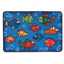 Click here for more Something Fishy Value Rug by Carpets for Kids by Worthington