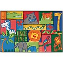 Click here for more Jungle Fever Value Rug by Carpets for Kids by Worthington