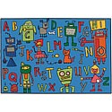Click here for more Reading Robots Value Rug by Carpets for Kids by Worthington