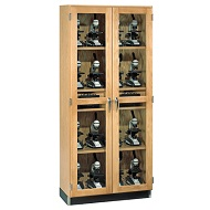 Click here for more Micro-Charger Glass Door Cabinet by Diversified Woodcrafts by Worthington