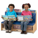 Click here for more Literacy Couch by Jonti-Craft by Worthington