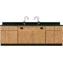 Click here for more Wall School Science Lab Service Benches by Diversified Woodcrafts by Worthington