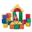 Click here for more Large Block Sets by the Children's Factory by Worthington