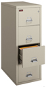 Click here for more Fire-Resistant Two Hour Vertical Files by FireKing by Worthington