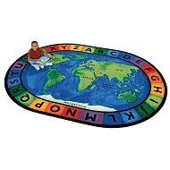 Click here for more Circletime Around the World Rug by Carpets for Kids by Worthington