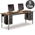 Click here for more 1500 Series Computer Tables by Smith Carrel by Worthington