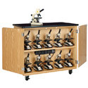 Click here for more Mobile Microscope Charging Cabinet by Diversified by Worthington