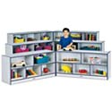 Click here for more Rainbow Accents Mobile Storage Fold-N-Lock Units by Jonti-Craft by Worthington