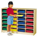 Click here for more 24 Paper-Tray Cubbie by Jonti-Craft by Worthington