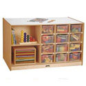 Click here for more Mobile Storage Island by Jonti-Craft by Worthington