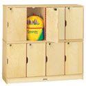 Click here for more Stacking Lockable Lockers by Jonti-Craft by Worthington
