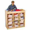 Click here for more 12 Tub Early Childhood Changing Table by Jonti-Craft by Worthington