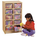 Click here for more 10 Tray Mobile Storage by Jonti-Craft by Worthington