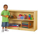 Click here for more Low Straight-Shelf Mobile Unit by Jonti-Craft by Worthington