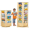 Click here for more Revolving Literacy Towers by Jonti-Craft by Worthington
