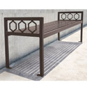 Click here for more Huntington Outdoor Bench by UltraPlay by Worthington