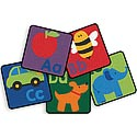 Click here for more Sequential Seating Literacy Squares by Carpets for Kids by Worthington