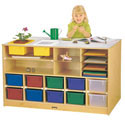 Click here for more Mobile Storage Island Twin by Jonti-Craft by Worthington