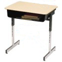 Click here for more 7800 Series Open Front Desk by Scholar Craft by Worthington