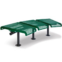 Click here for more 715 Series 15° Converstational Bench by UltraPlay by Worthington