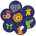 Click here for more God's Animals ValuePlus Circles by Carpets for Kids by Worthington