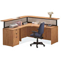 Click here for more Reception Office Desk Suite PLB9 by NDI Office Furniture by Worthington